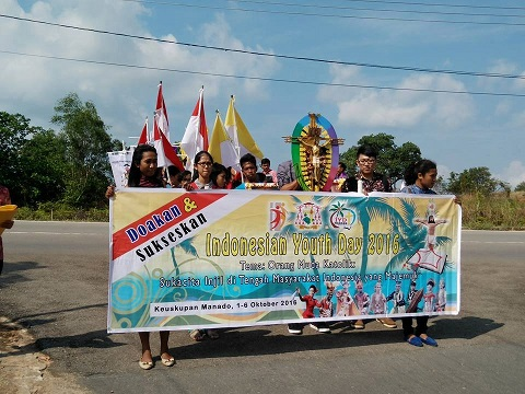 Salib_IYD_Kepri_sampai_di_Uban-Tanjungpinang