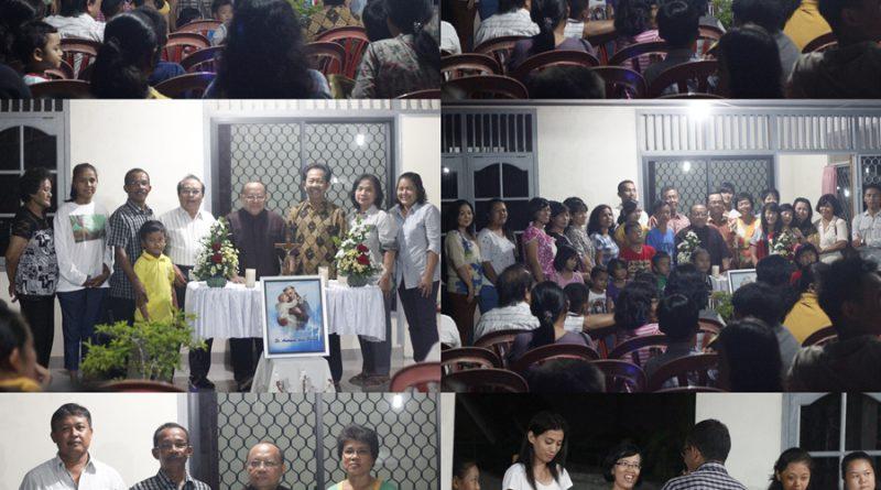Suasana pesta KBG St Antonius Pangkalpinang (foto : Agnes Yulia)