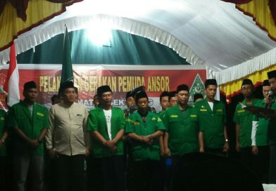 Selamat, Pengurus PAC GP Ansor Sekupang Dikukuhkan