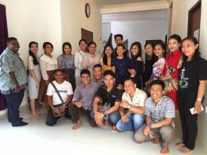 Bersama Mahasiswa Katolik di Paroki St. Hilarius
